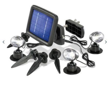 LED Solarspot Quattro Power