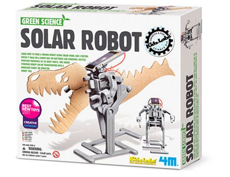Green Science - Zonne-energie robot