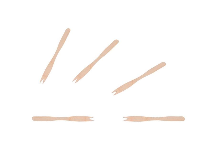 Spiesjes bamboe - 8,5cm - 100st