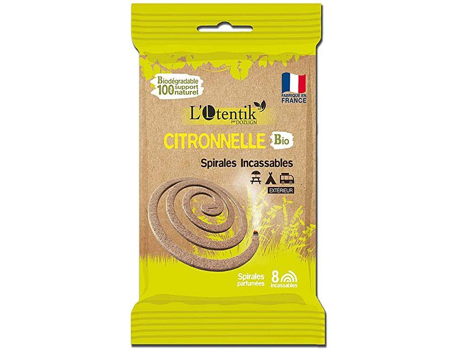 Anti Mug Spiraal Citronella. 8 stuks in 1 zakje