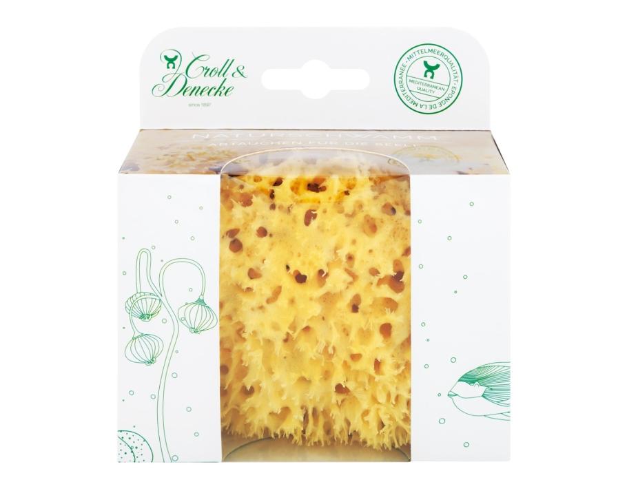 Natuur Spons in Eco cadeau verpakking - maat M