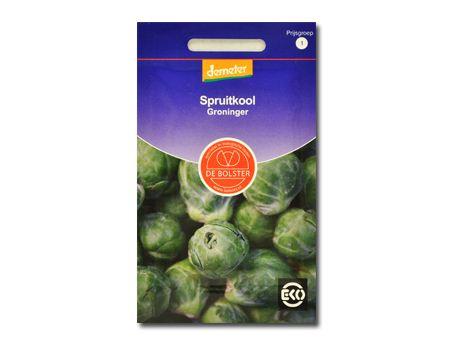 Biologische groenten Spruitkool