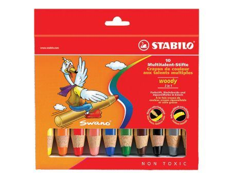 Woody Bleistift - 3 in 1