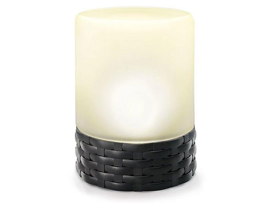 Solar led kaarslicht - Rattan Style