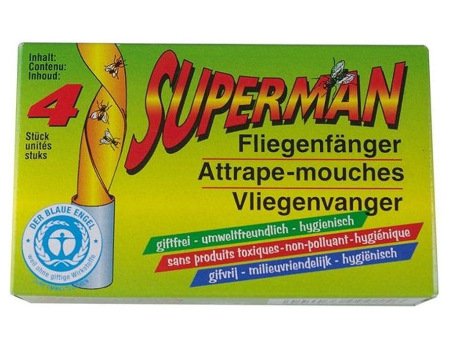 Fruitvliegen vangers Superman - 6 st