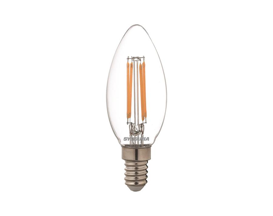Ledlamp - Kaars - E14 - 470 lm - helder - dimbaar