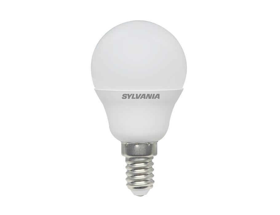 Led-Lampe - E14 - 470lm - Kugel - matt