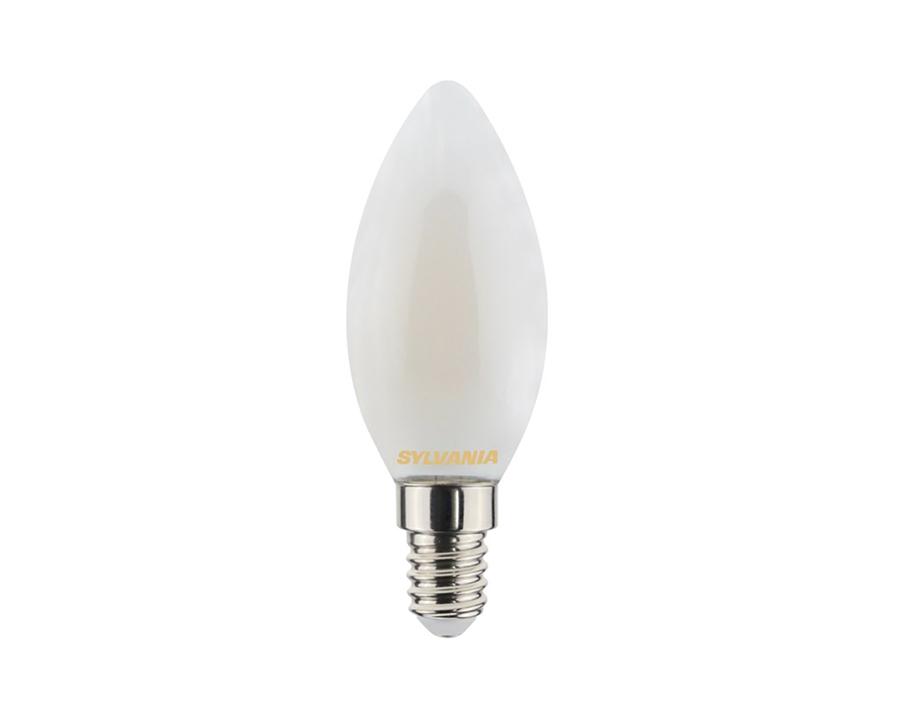 Ledlamp - Kaars - E14 - 470 lm - mat - dimbaar