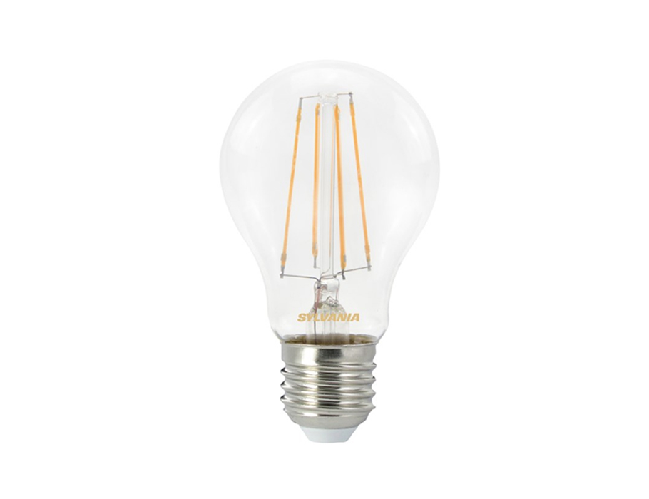 Ledlamp - E27 - 806lm - bol - doorzichtig