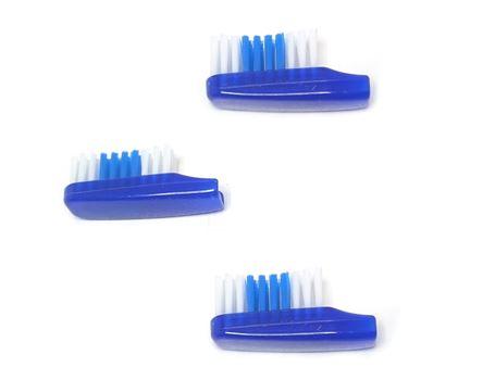 Tandenborstel nylon - medium - navulling