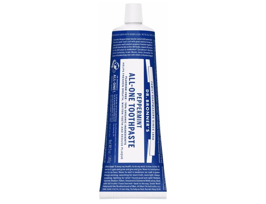 Tandpasta zonder fluoride - 140gr