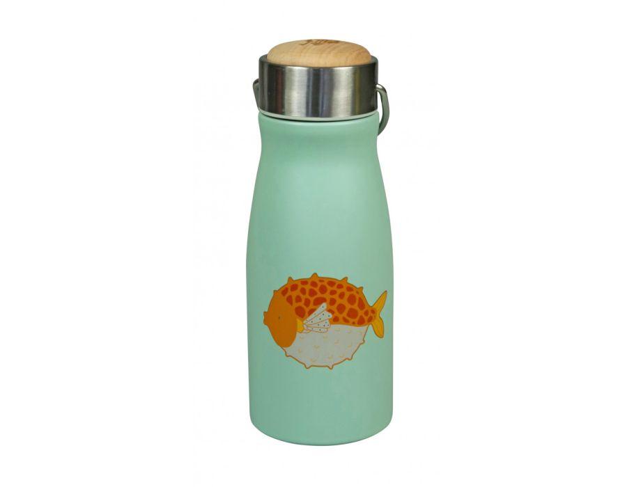 Thermosflasche aus Edelstahl doppelwandig - Puff Fish
