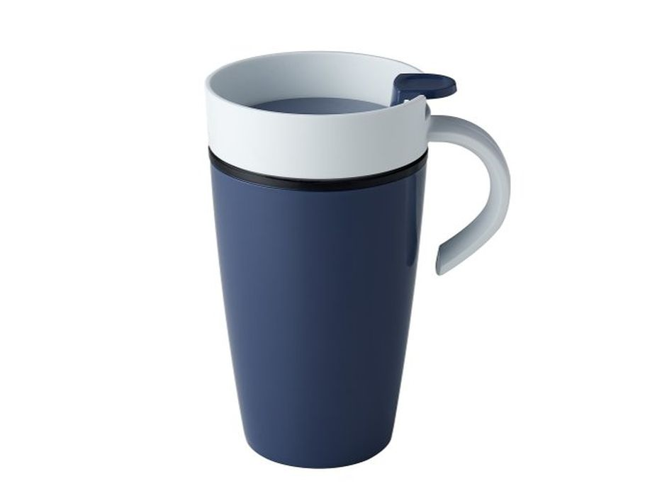 Thermo Caffee Becher Nordic Blau