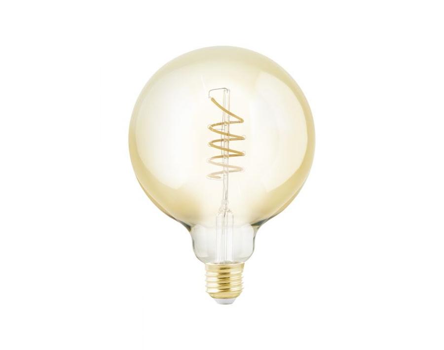 Led-Lampe - E27 - 245 lm - Spirale - Bernstein - Dimmbar