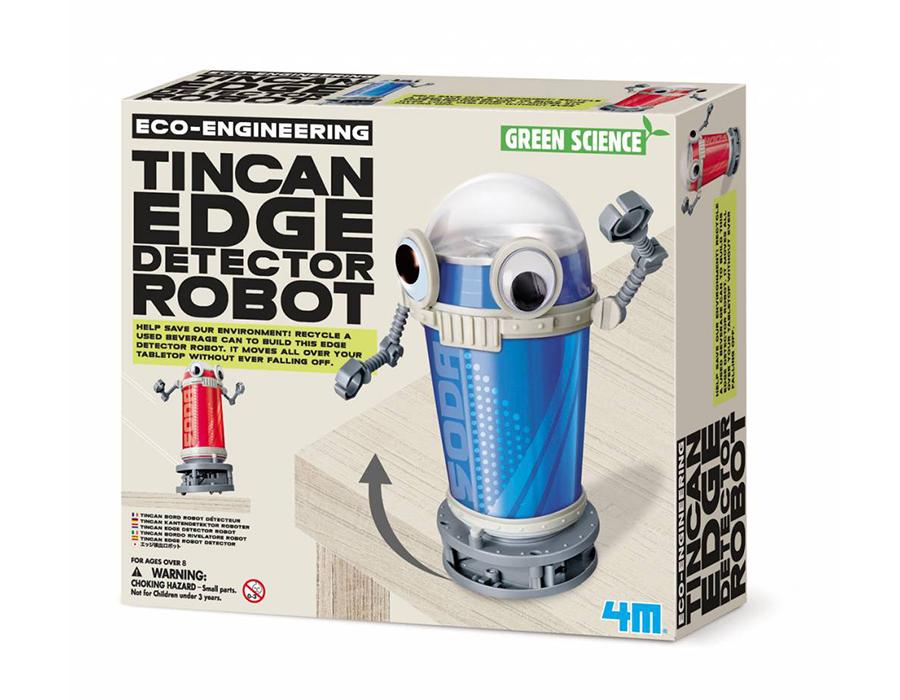 Bouwpakket - Maak je eigen Blikjesrobot -Tincan