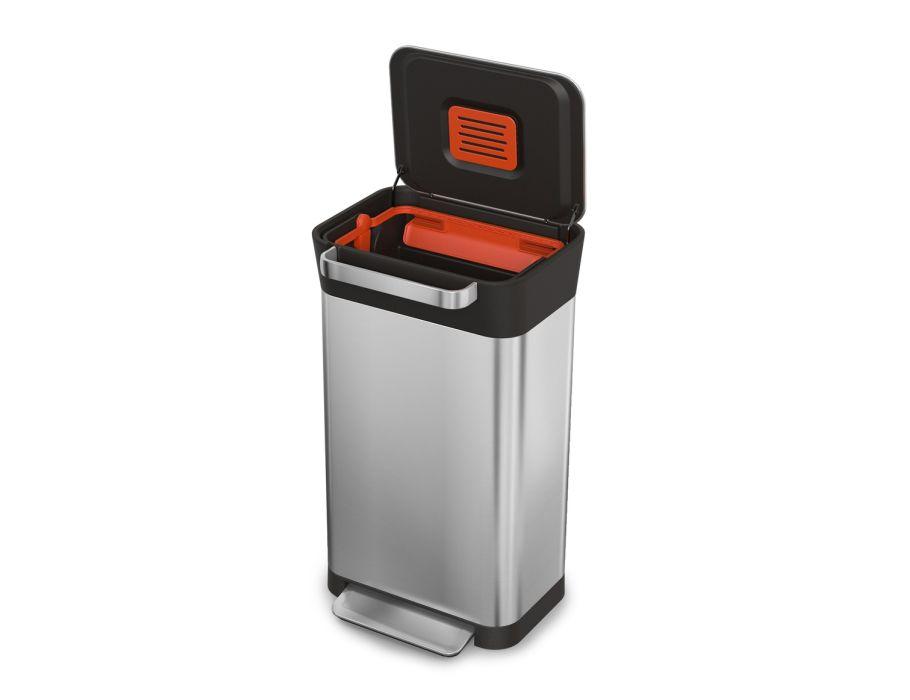 Afvalbak met Pers Titan - 60 liter