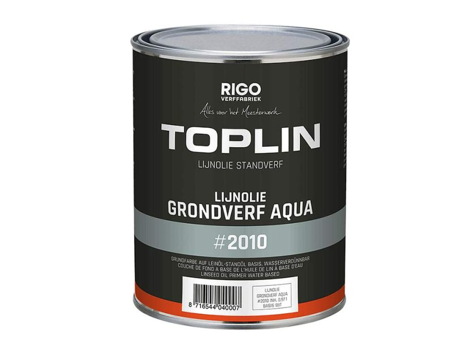 Toplin grondverf aqua binnen 1 liter