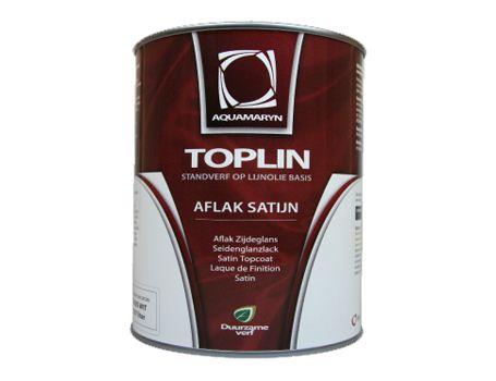 Toplin Satin-Lack Weiss
