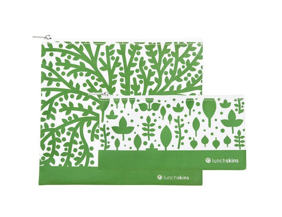 2 pack Zip set – Green Tree