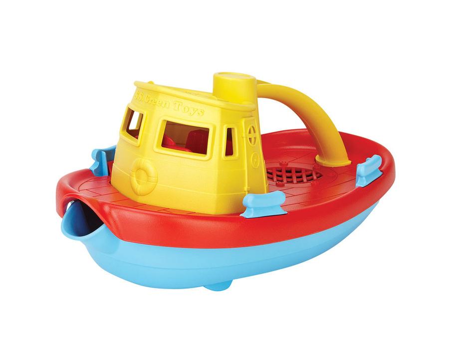 Wasserspielzeug Dampfschiff
