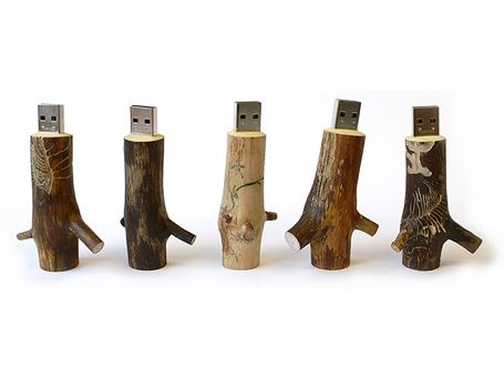 USB stick - Hout