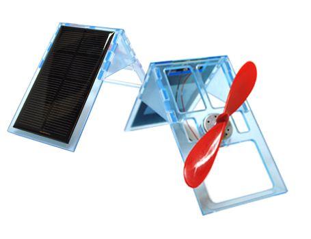 Sol Expert - Doe-het-zelf Ventilator met standaard