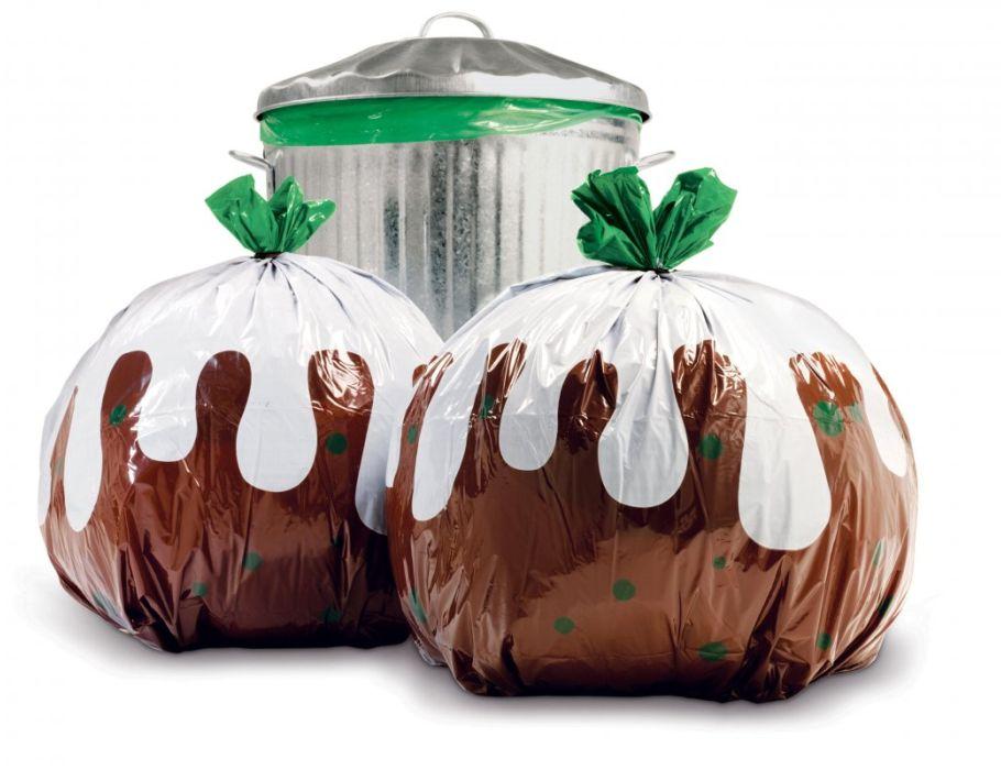 Dekorierte Müllsäcke 12 st