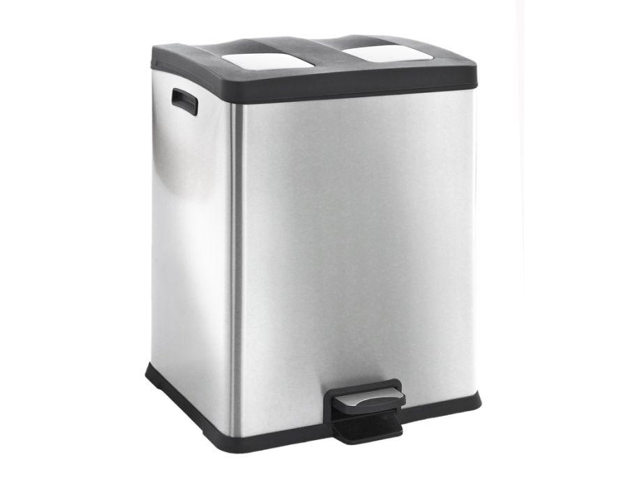 Afvalbak 60 liter - duo 2x30L