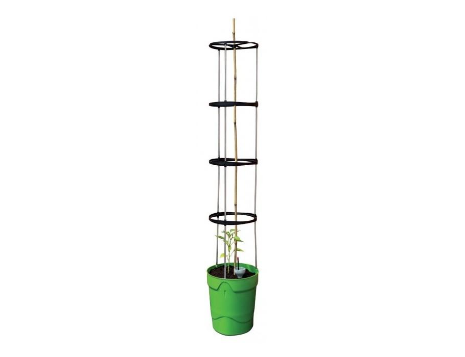 Pflanzgefäß mit Wasserbehälter