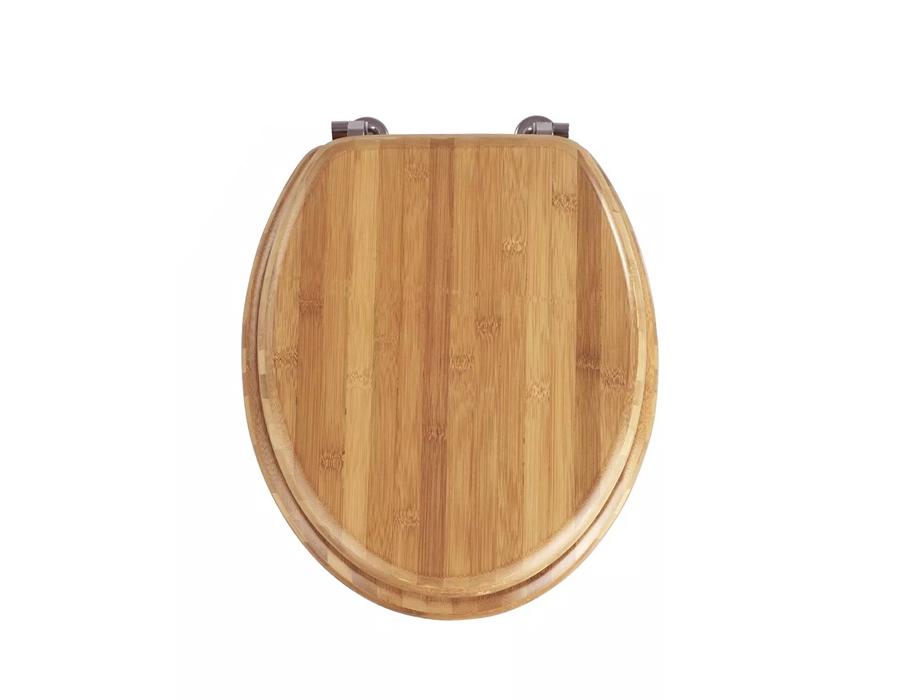 Toiletbril - Bamboe