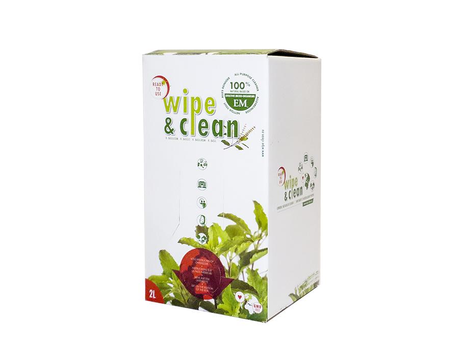 Wipe en Clean - Basilicum - 2L