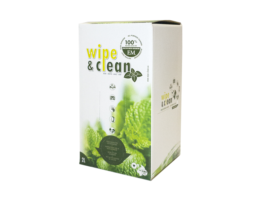 Wipe en Clean - Mint - 2L