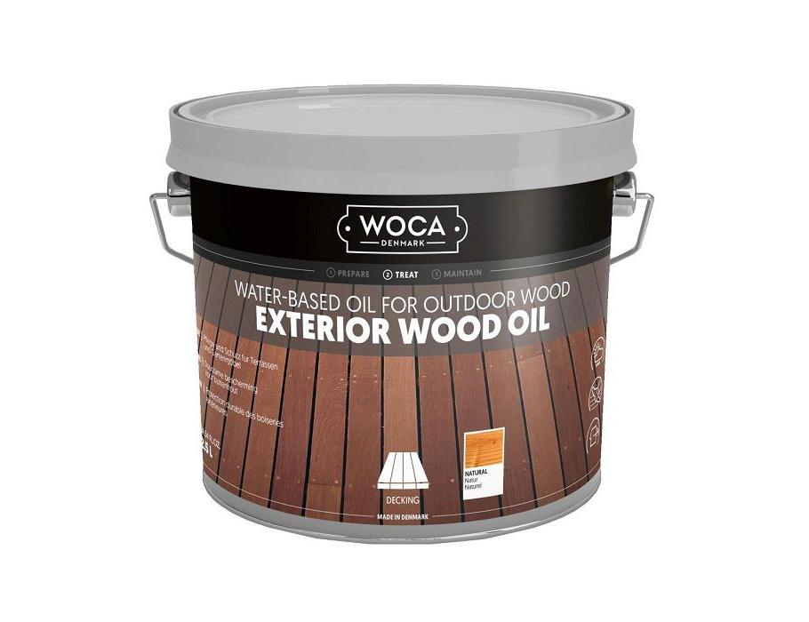 Exterior Wood Oil - Natural - 2,5 L