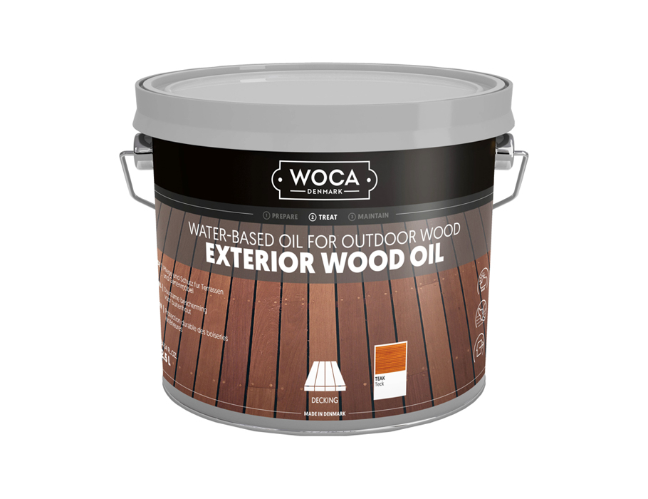 Exterior Wood Oil - Teak - 2,5 L