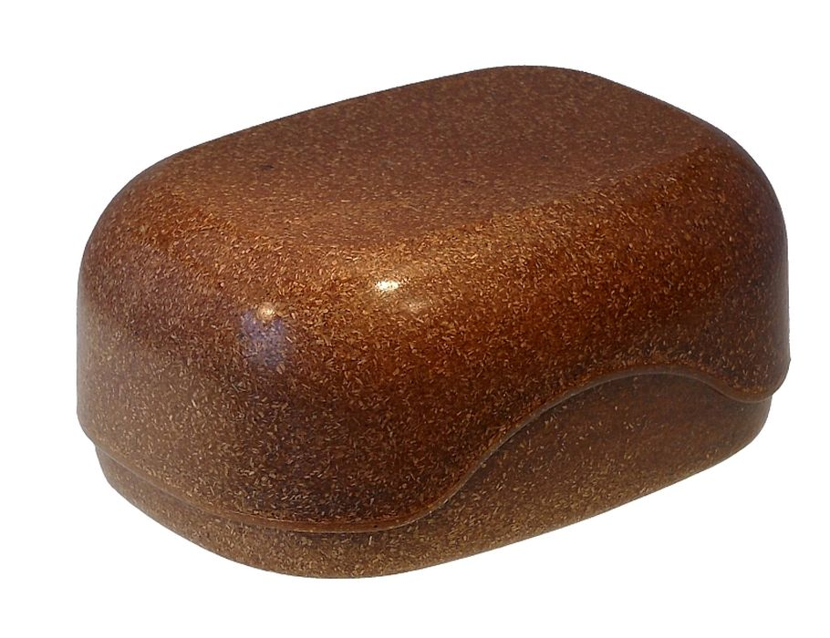 Zeep doos vloeibaar hout - donker