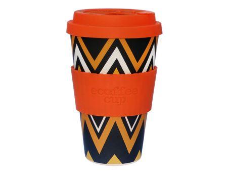 Ecoffee cup - biologisch afbreekbaar - Zig n' zag