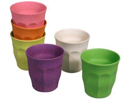Bekers - diverse kleuren
