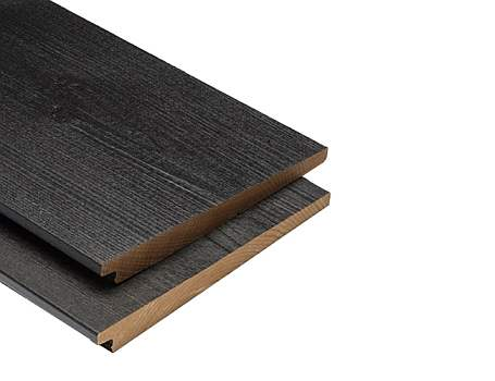 Zweeds rabathout XL - Zwart