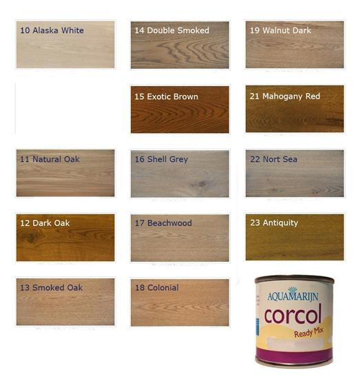 Corcol kleur pigment voor Corcol vloerolie