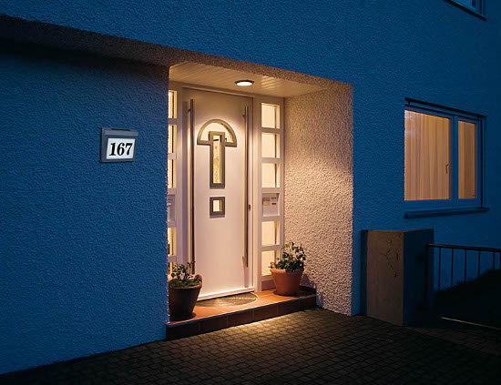 Solar Power SH 4000 Verlicht huisnummer