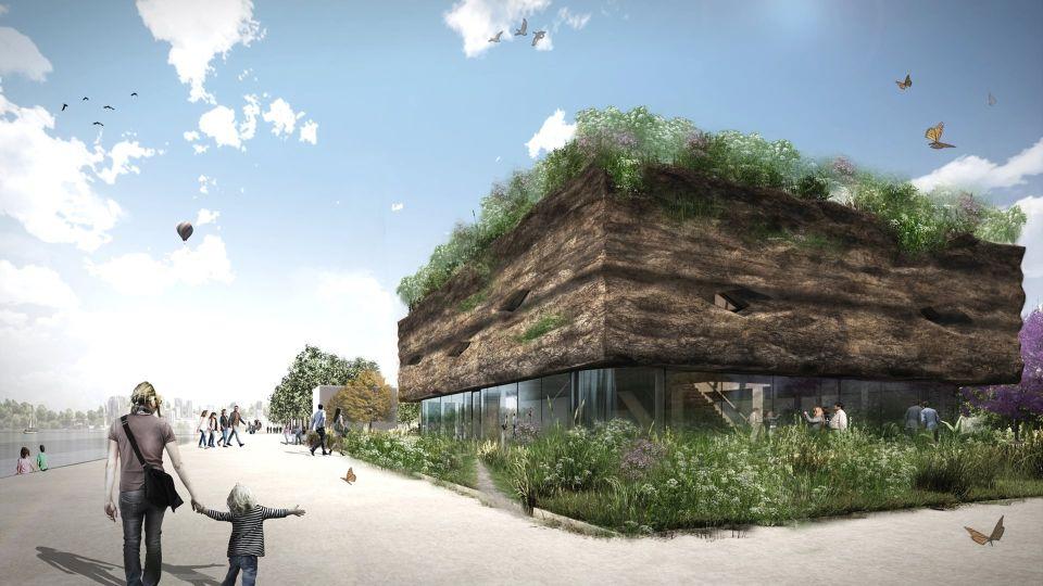 Der Flevoland-Pavillon - Floriade