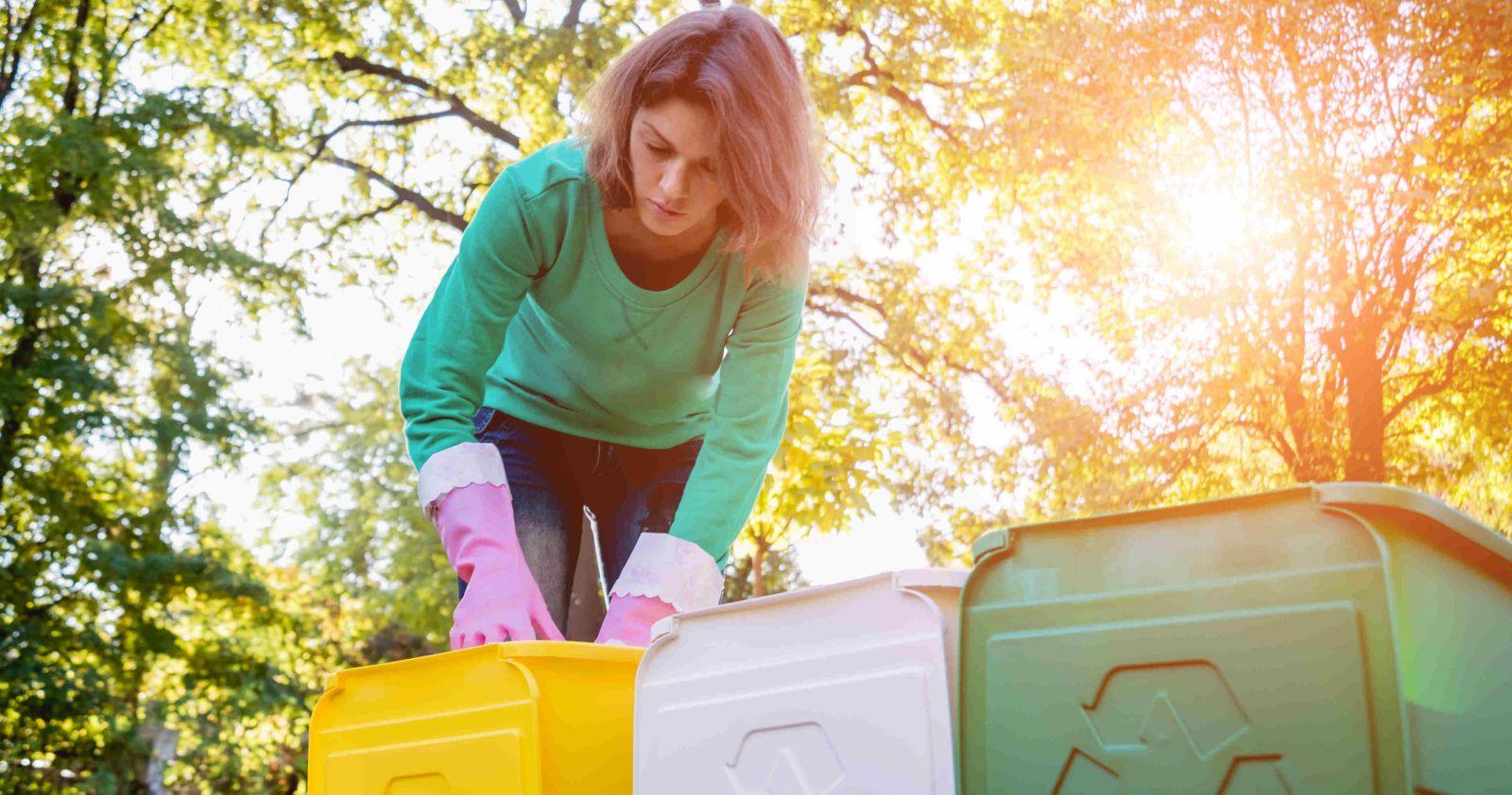 Mülltrennung; Was kommt wo rein ?