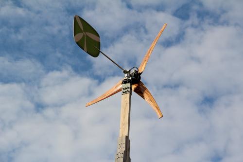 De heruitvinding van de kleine wind turbine