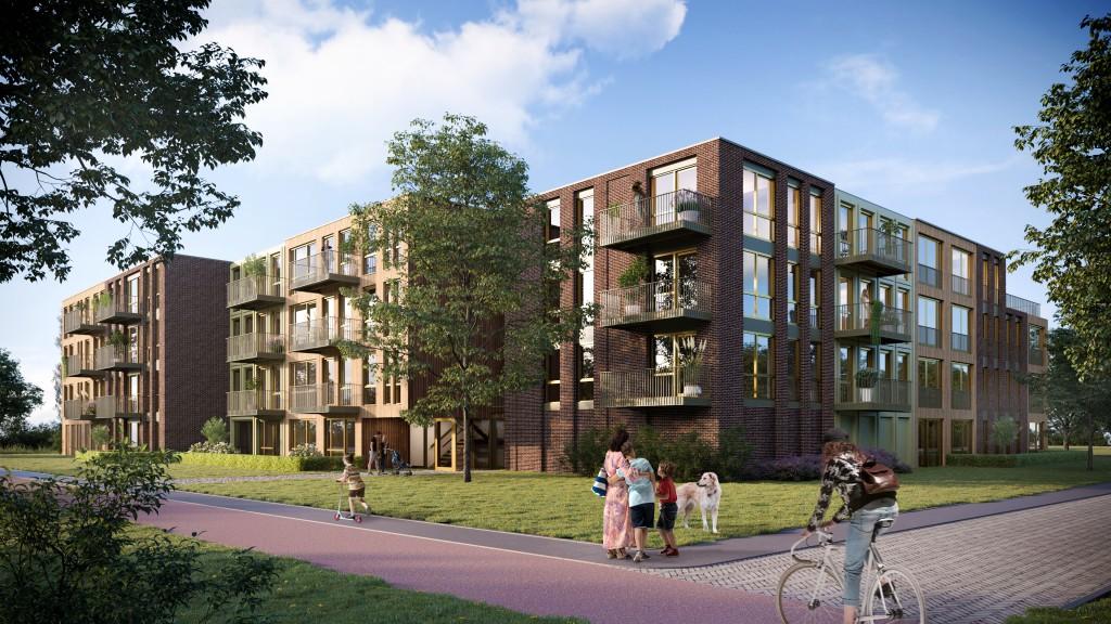 Holland: Holzsiedlungsprojekt M'DAM