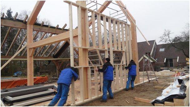 Verdubbelde houtprijs treft houtskeletbouw