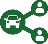Steeds meer leasebakken worden deelauto