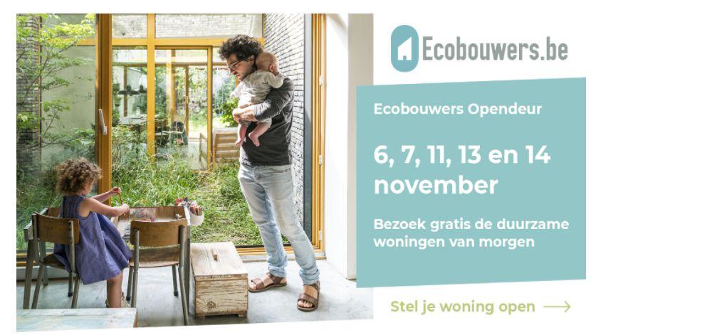 Stel je woning veilig open op Ecobouwers Opendeur!