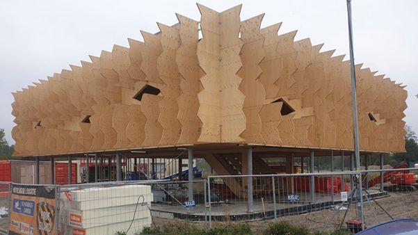 Paviljoen Food Forum Floriade Almere