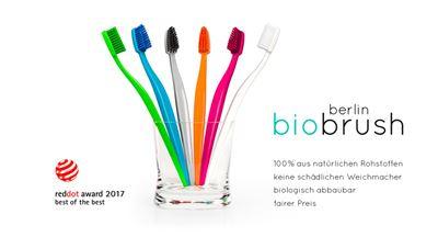 Onze Biobrush wint reddot Award 2017