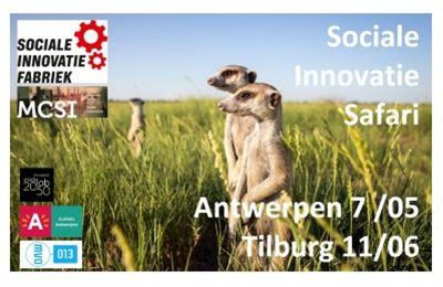 Sociale Innovatie Safari in Antwerpen en Tilburg.